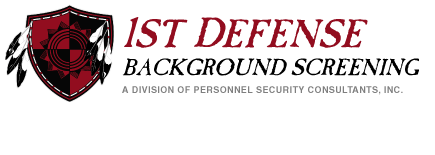 1st Defense Online Background Checks